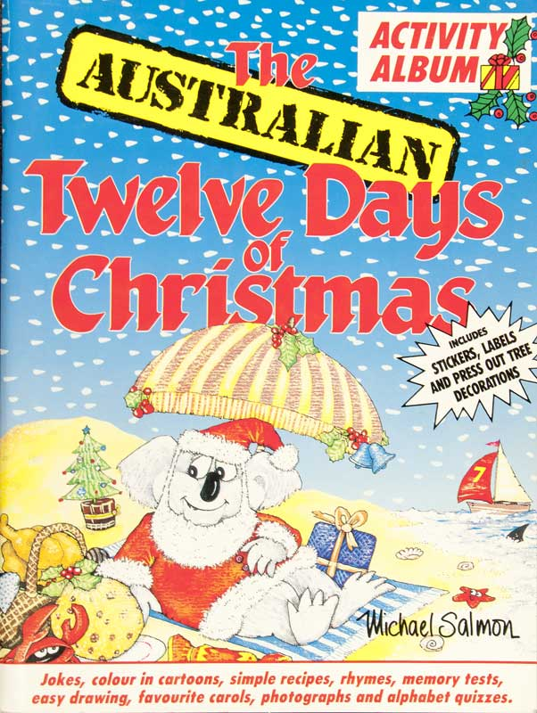 Christmas In Australia Book.Books 1